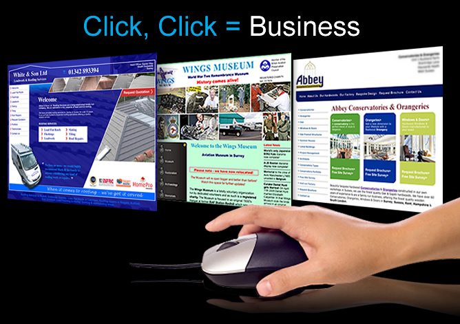 Web design in sussex and surrey